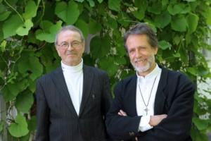 Pfarrer Müller und Pfarrer Faulhaber