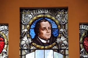 Lutherfenster in der Friedenskirche